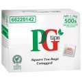 Pg Tips Tagless Tea Bags Box 500