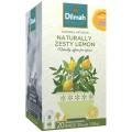 Dilmah Naturally Zesty Lemon Foiled Enveloped Caffeine Free Tagged Tea Bags 20s