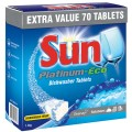 Sun Platinum Eco Dishwash Tablets Box 80