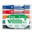 Pilot Whiteboard Markers Bullet Pack 5