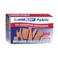 Aeroplast Fabric Plasters Assorted 100'S