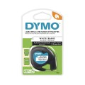 Dymo Letratag Label Printer Plastic Tape 12mmx4m White