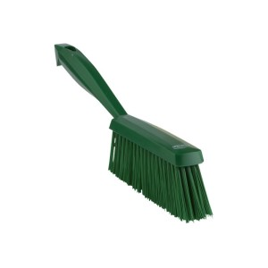 28/45892 Vikan Bannister Brush Medium 40X340mm Green Bristle 50mm Each