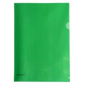 Esselte L-Shape Pocket Heavy Duty Green Pkt12