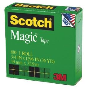 Scotch Magic Tape 810 19mm X 32.9m