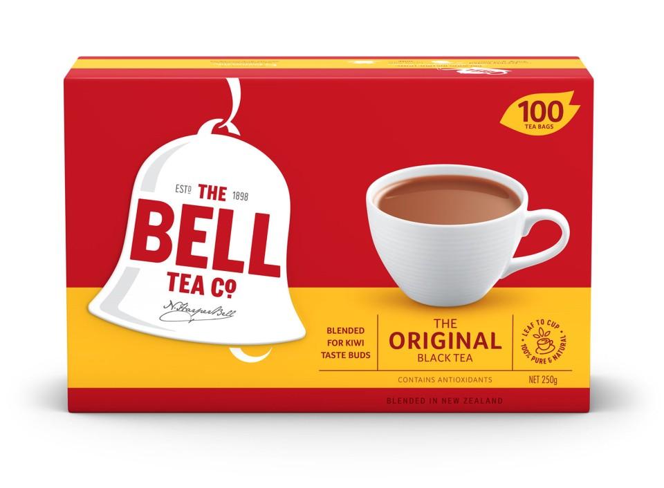 Bell Original Tagless Tea Bags Box 100