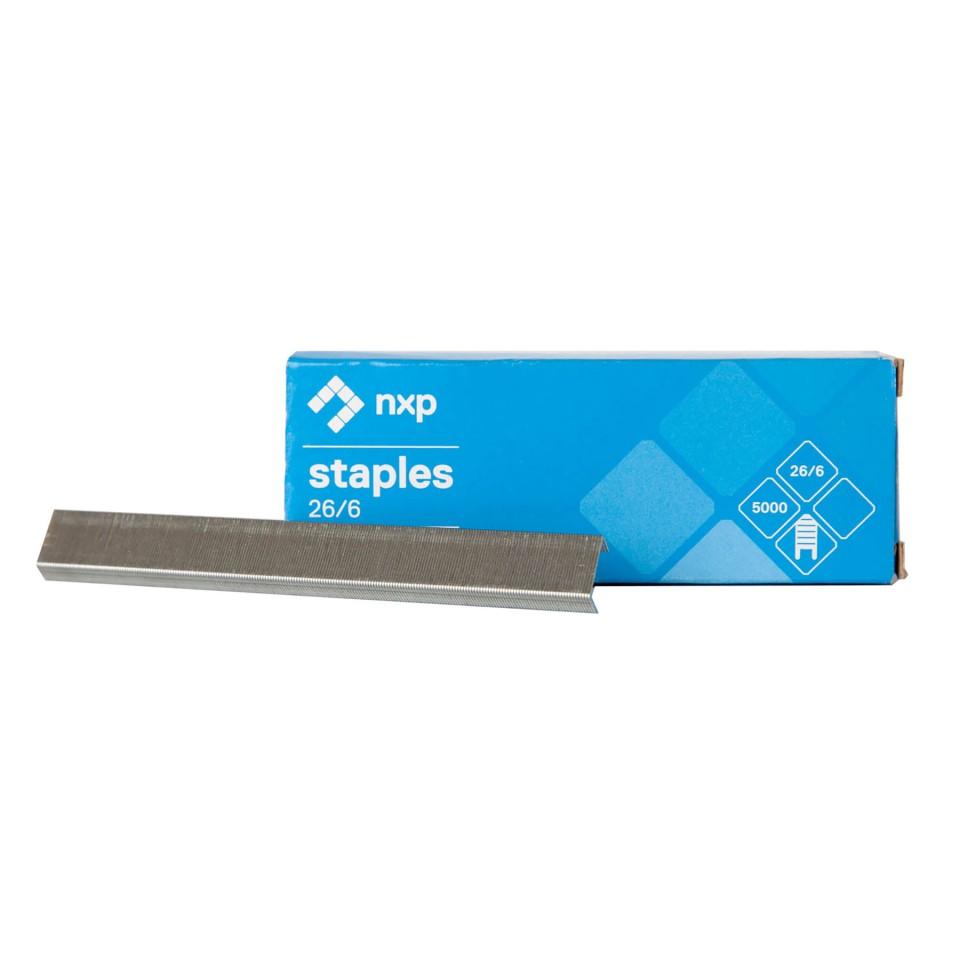 26/6 Standard Staples Box 5000