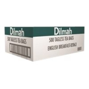 Dilmah Speciality English Breakfast Tagless Tea Bags 500s