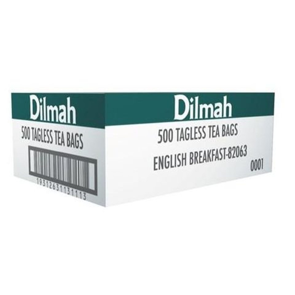 Dilmah Speciality English Breakfast Tagless Tea Bags Box 500