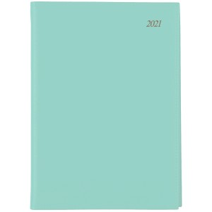 Soho 2021 Diary A5 Day To Page Wiro Mint