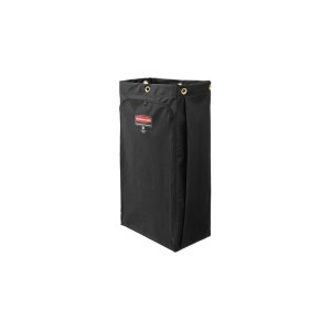 Executive Canvas Bag For High Capacity Janitorial Cleaning Cart 30 Gallon Black 1966888