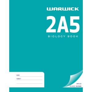 Warwick Book 2A5 Biology 255x205mm