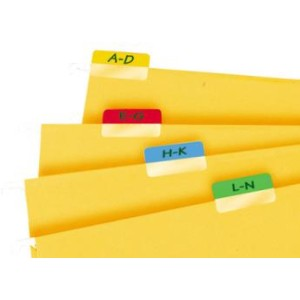 3L Index Tabs 40mm Coloured Pkt48