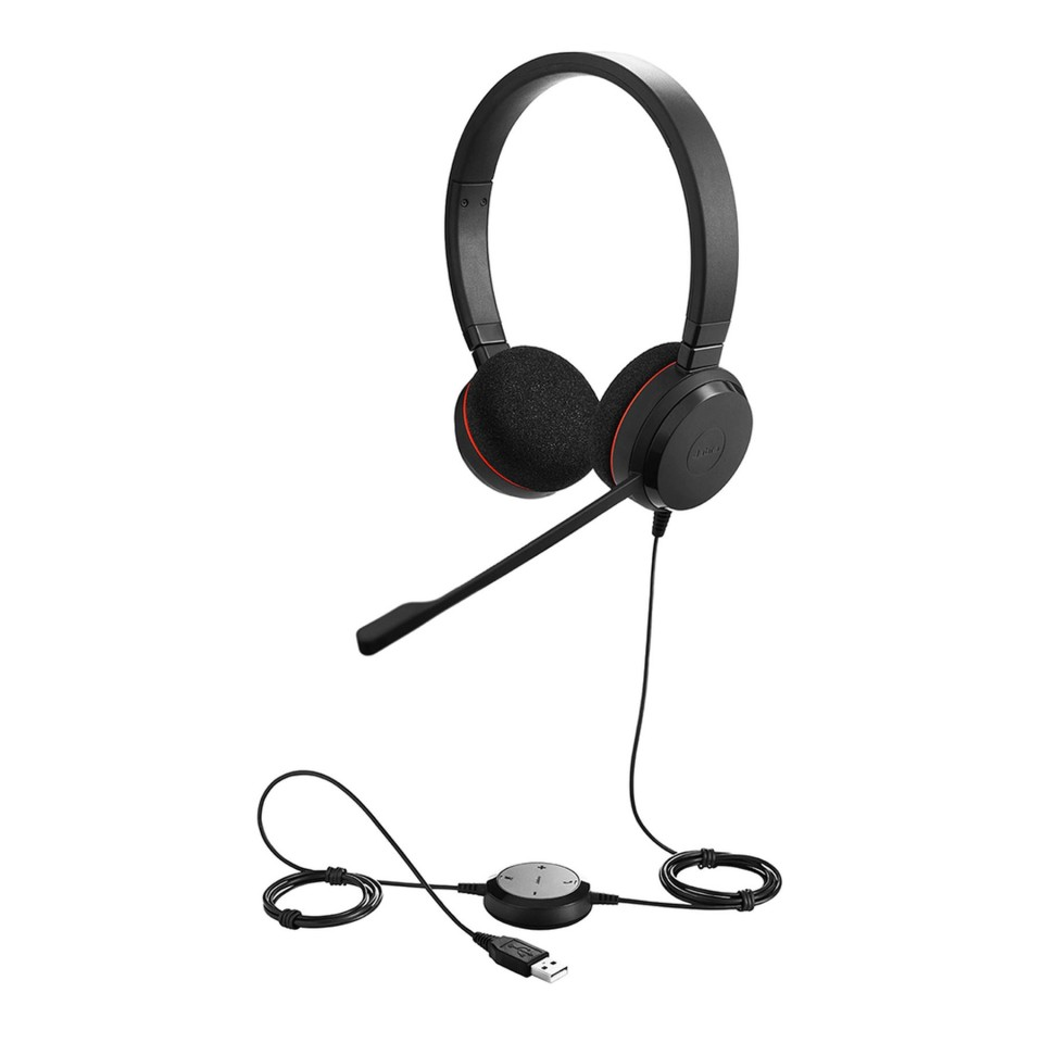Jabra Evolve 20SE Uc Stereo Headset