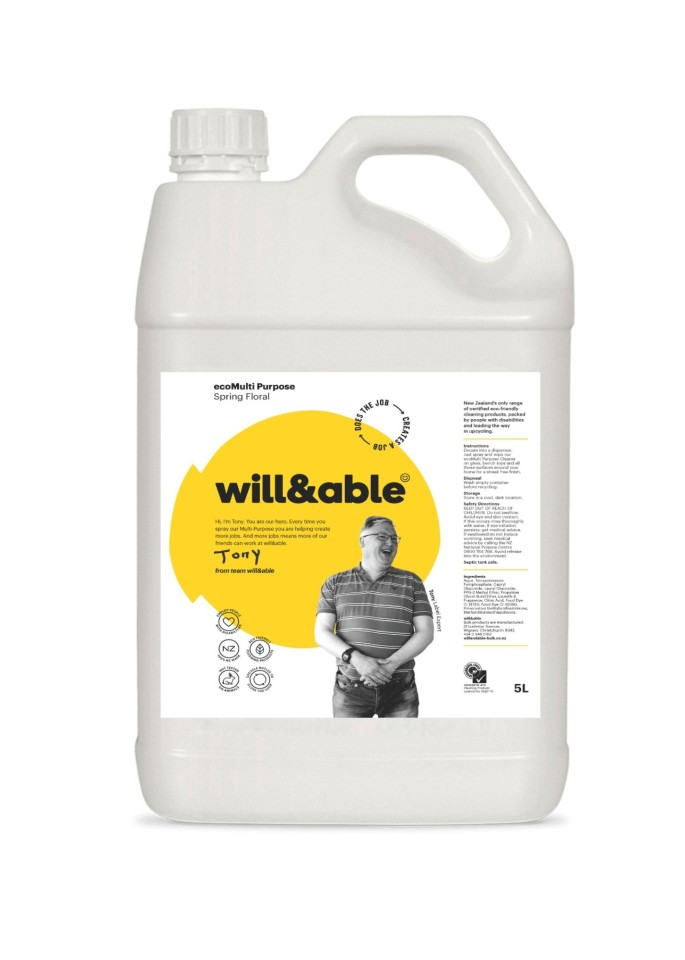 will&able ecoMulti Purpose Cleaner - 5L