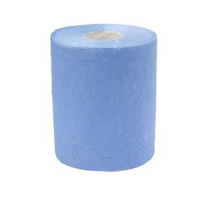 Sorbx Mini Centrefeed Hand Towel 1 Ply Blue 120 meters per Roll 2118 Carton of 12