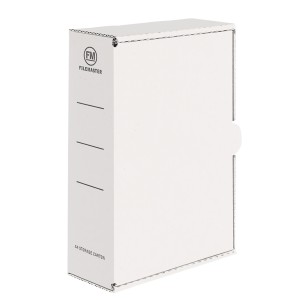 FM Storage Carton White A4 333x255x90mm