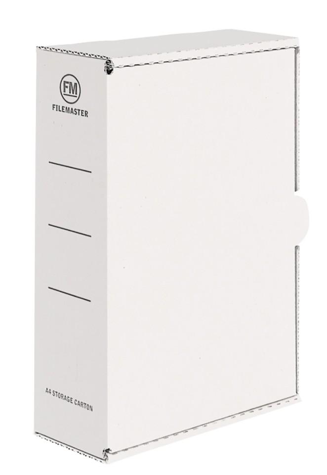 FM Storage Carton White A4 333x255x90mm