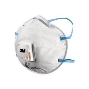 3M 8822 P2 Valved Dust / Mist Respirator Ctn240