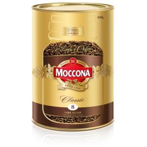 Moccona Classic Dark Roast Instant Coffee Tin 500g