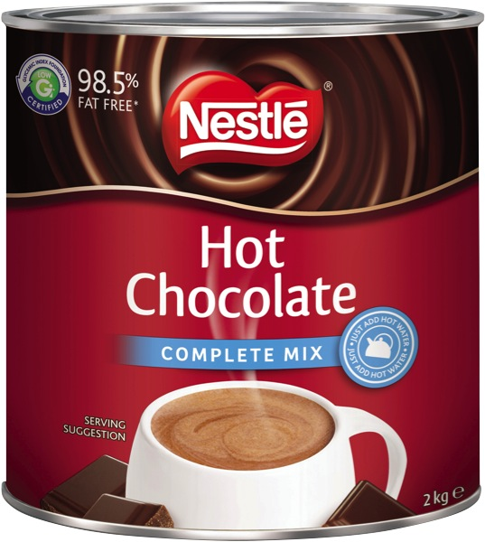 Nestle Hot Chocolate Complete Mix Tin 2kg
