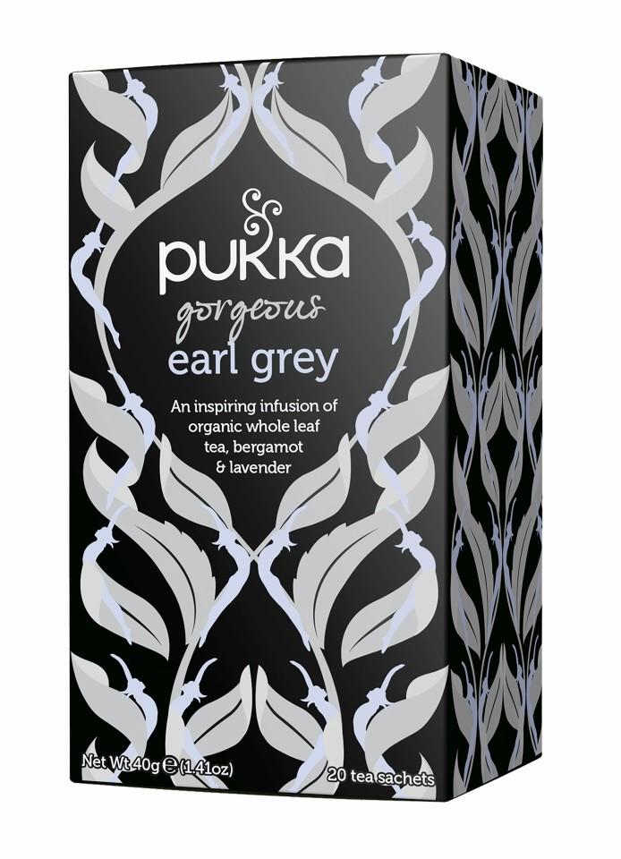 Pukka Gorgeous Earl Grey Enveloped Tea Bags 20's