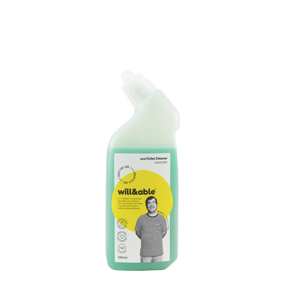 will&able ecoToilet Cleaner - 500ml