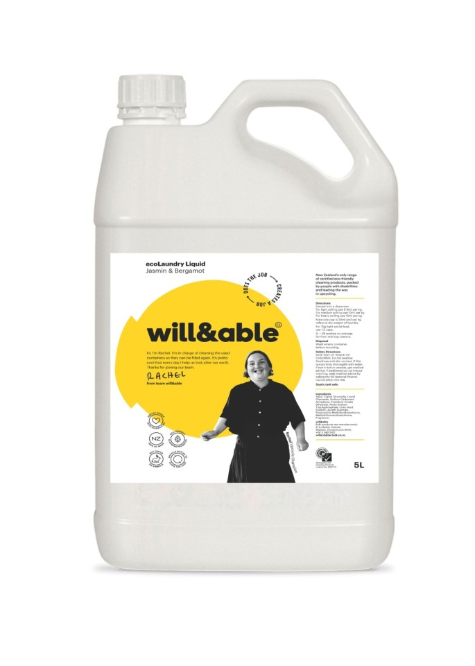 will&able ecoLaundry Liquid - 5L