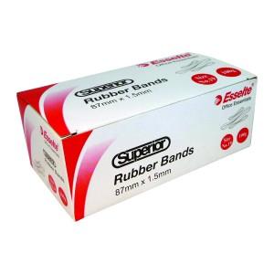 Esselte 37833 Superior Rubber Bands No. 34 3x64mm 100g