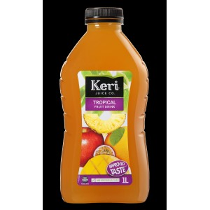 KERI Juice Tropical Fruit Drink 1l