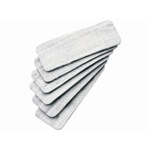 Quartet Magnetic Whiteboard Eraser Refills Box 6