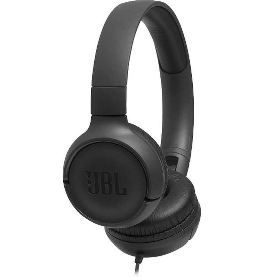 JBL Tune 500 On-ear Headphones - Black
