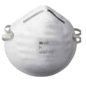 3M Cupped Particulate Respirator 8000 P1 Mask Box of 30