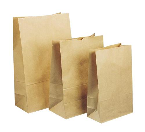 Emperor Block Bottom Paper Bag 125X70X270mm Size 1 Pkt 500