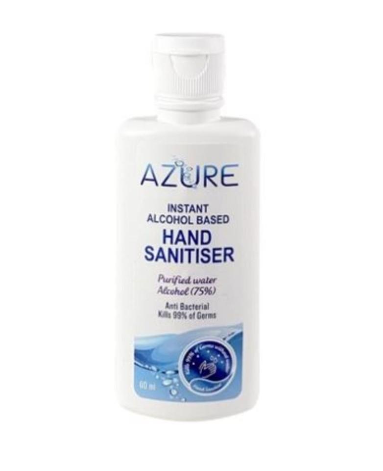 Azure Instant Hand Sanitiser 60ml