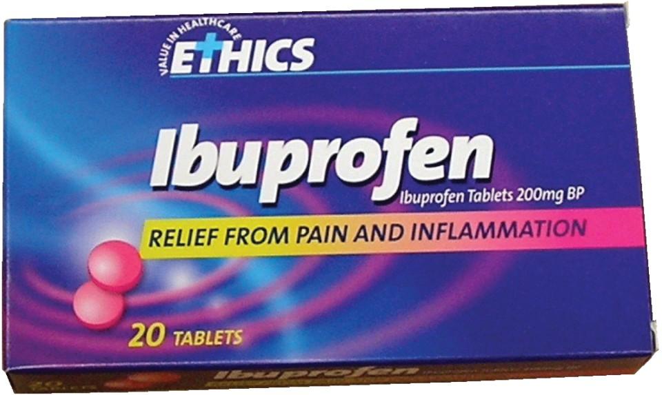 Ibuprofen 200mg capsules Box of 20