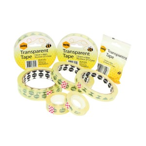 Office Tape Clear 18mm x 33m Roll