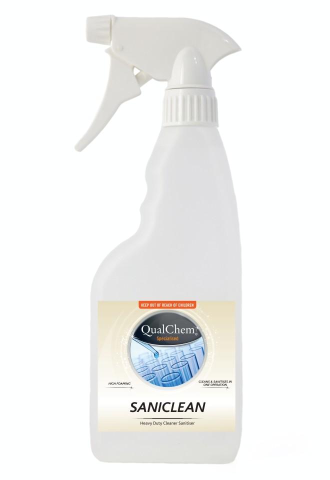 Saniclean Spray N Wipe Ready To Use 500ml