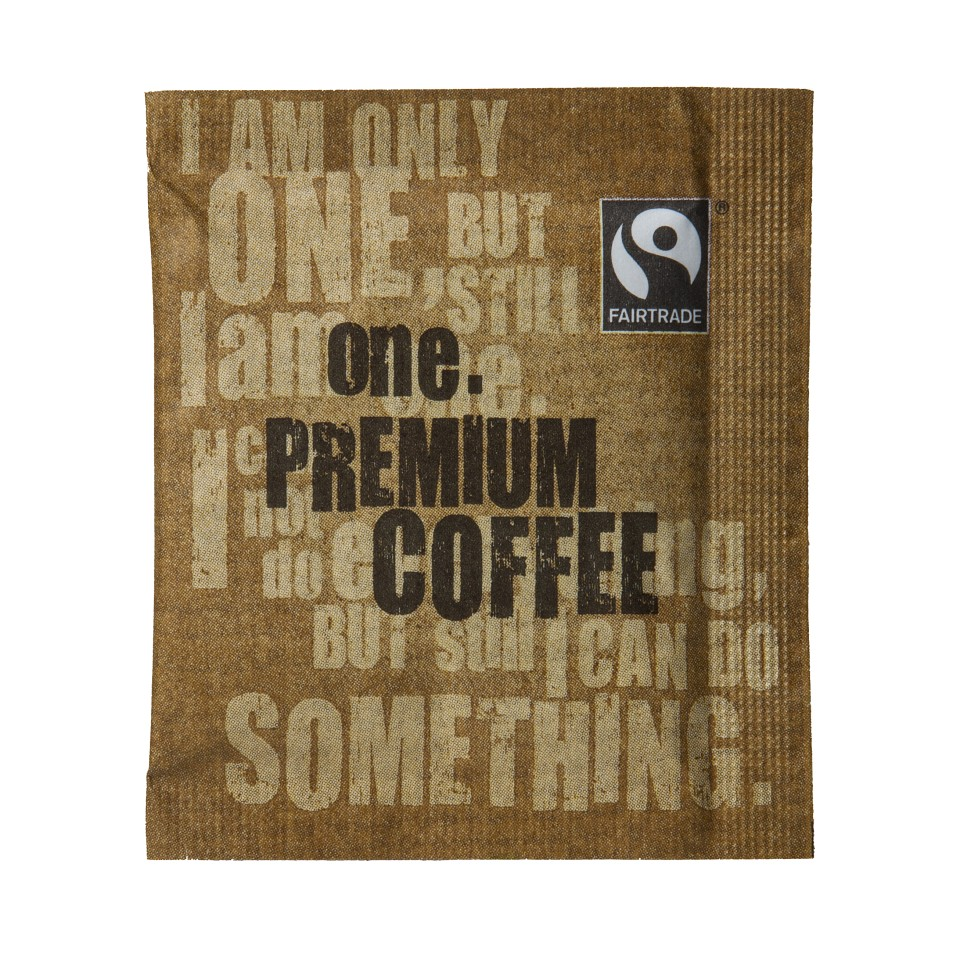 One Fairtrade Instant Coffee Sachet X250