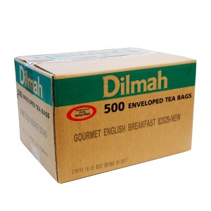 Dilmah Speciality English Breakfast Foil Enveloped Tagged Tea Bags 500s