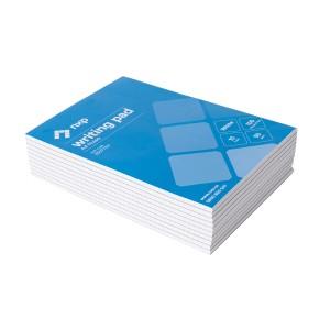 NXP Writing Pad A4 100 Leaf Ruled 7mm Pack 10