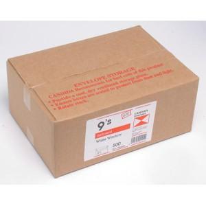 1511 9S Banker Window Self Seal Envelope Manilla Box 500 92X165mm