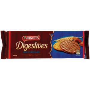 Arnotts Chocolate Digestive Biscuits 200G