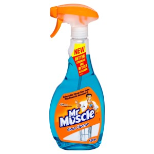 Mr Muscle Glass Cleaner Trigger Blue 500Ml