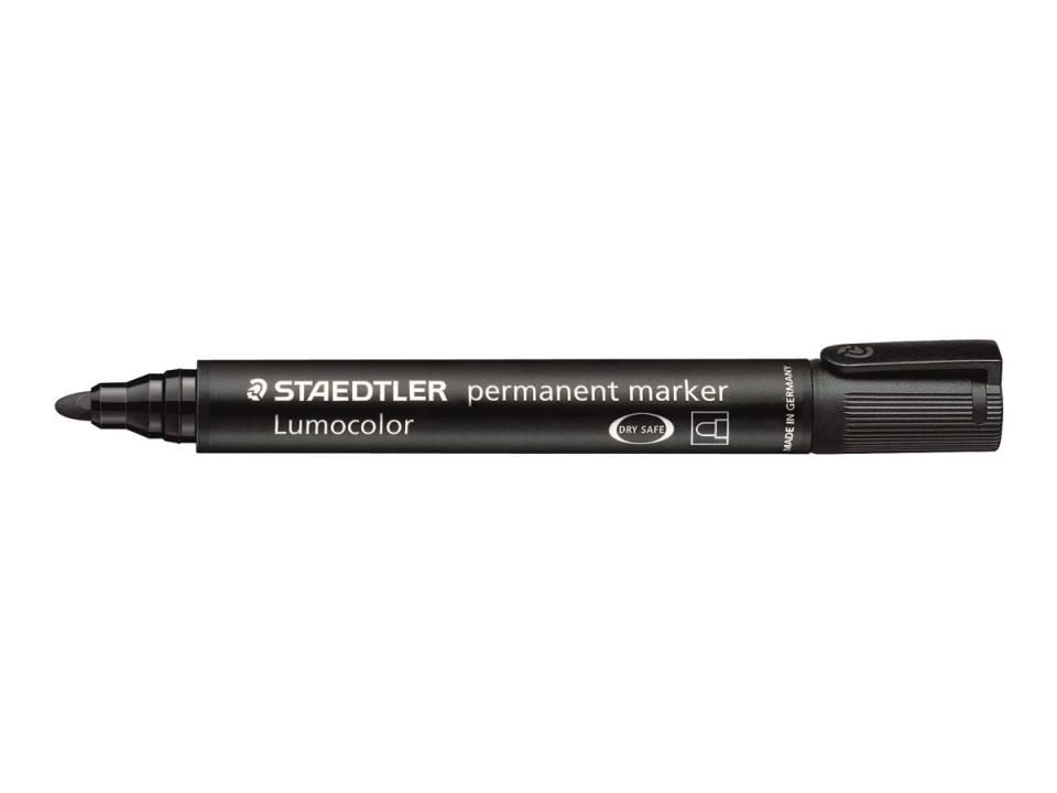 Staedtler 352 Lumocolor Permanent Marker Bullet Tip 2.0mm Black