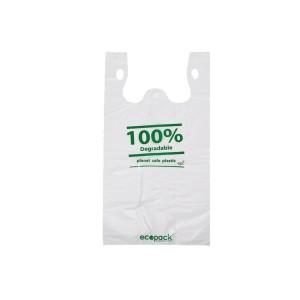 Small Bin Liner (210+130) x 460mm 15mu White Carton 500