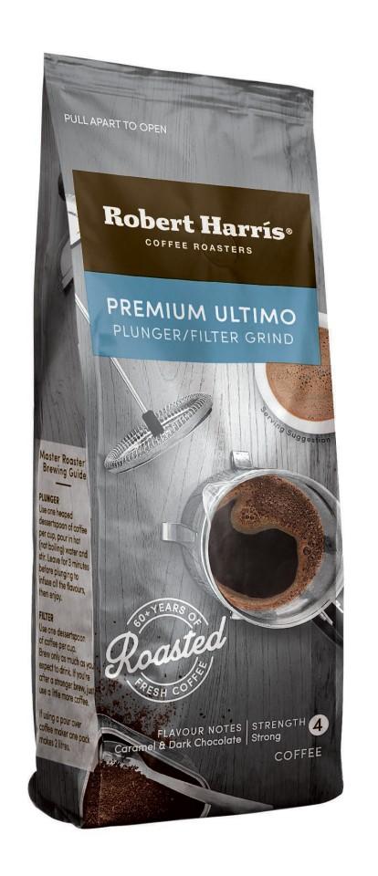 Robert Harris Italian Roast Plunger/Filter Coffee Sachets 50g Box 50