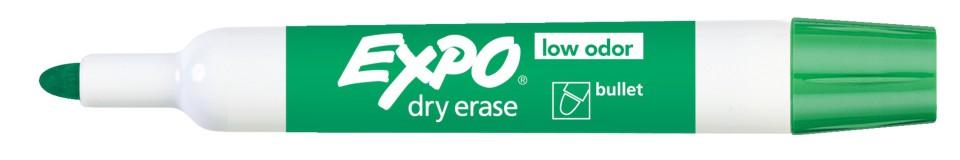 Expo Whiteboard Marker Bullet Tip 2.0mm Green