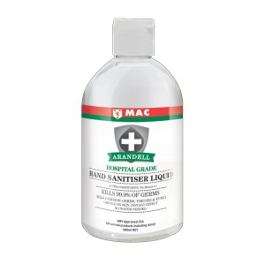 MAC Arandell Premium NZ Made Hand Sanitiser Liquid 500ml
