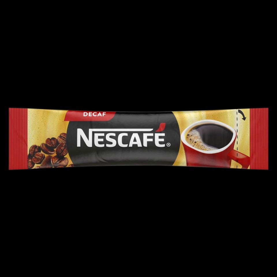Nescafe Decaf Instant Coffee Sticks 1.7g Box 280